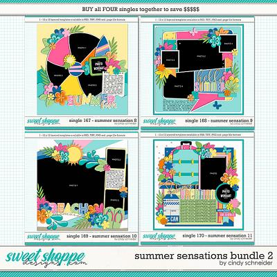 Cindy's Layered Templates - Summer Sensations Bundle 2 by Cindy Schneider