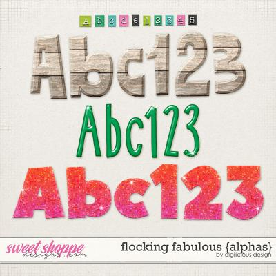 Flocking Fabulous {Alphas} by Digilicious Design