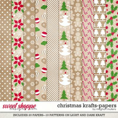 Christmas Krafts-Paper Pack by Meghan Mullens