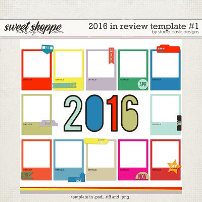 2016 In Review Template #1 by Studio Basic