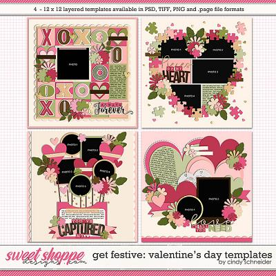 Cindy's Layered Templates - Get Festive: Valentine's Day by Cindy Schneider