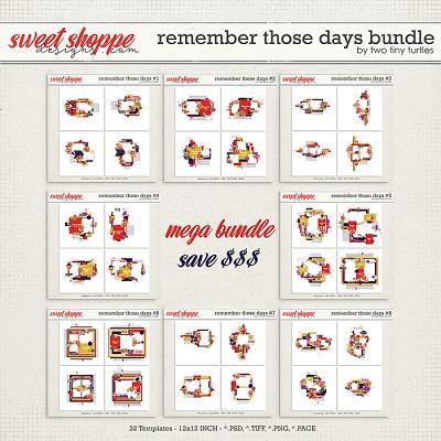 Remember Those Days: Bundle by Two Tiny Turtles