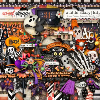 a little scary kit: simple pleasure designs by jennifer fehr