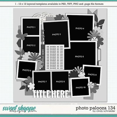 Cindy's Layered Templates - Photo Palooza 134 by Cindy Schneider