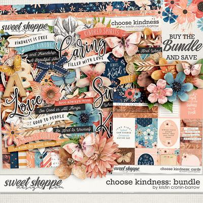Choose Kindness: Bundle by Kristin Cronin-Barrow