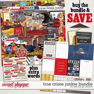 True Crime Junkie Bundle by Kelly Bangs Creative