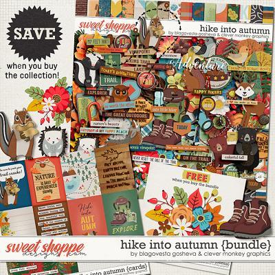 Hike into Autumn Bundle by Blagovesta Gosheva & Clever Monkey Graphics