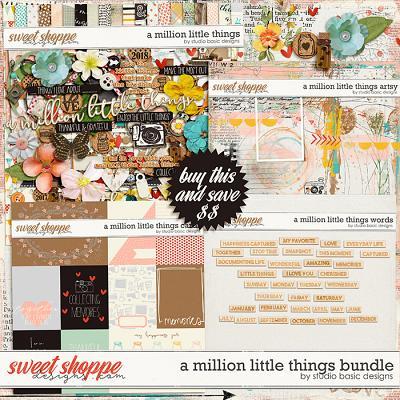 A Million Little Things Bundle by Studio Basic