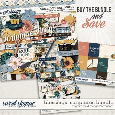 Blessings: Scriptures Bundle by Grace Lee and Meagan's Creations