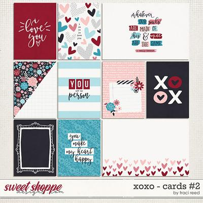 XOXO Journal Cards #2 by Traci Reed