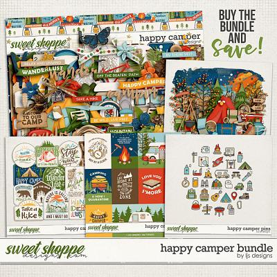Happy Camper Bundle by LJS Designs
