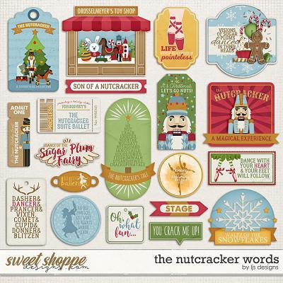 The Nutcracker Words by LJS Designs
