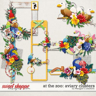 At the Zoo: Aviary Clusters by Meagan's Creations