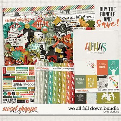 We All Fall Down Bundle by LJS Designs