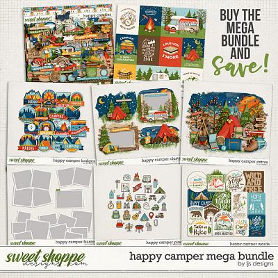 Happy Camper Mega Bundle by LJS Designs