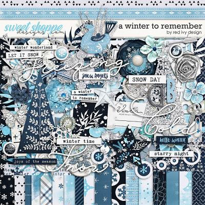 A Winter to Remember by Red Ivy Design