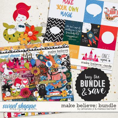 Make Believe: Bundle by Amanda Yi & Melissa Bennett