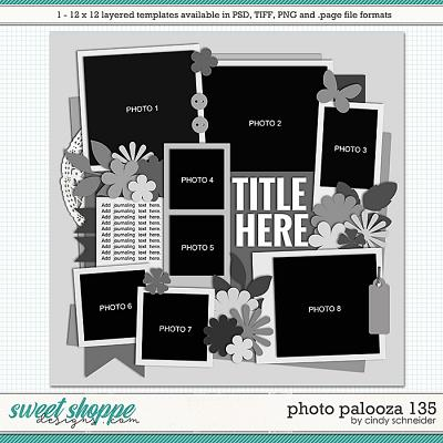 Cindy's Layered Templates - Photo Palooza 135 by Cindy Schneider