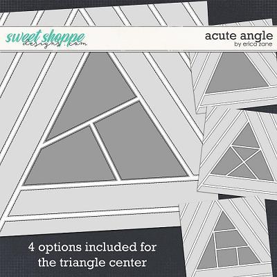 Acute Angle Template by Erica Zane