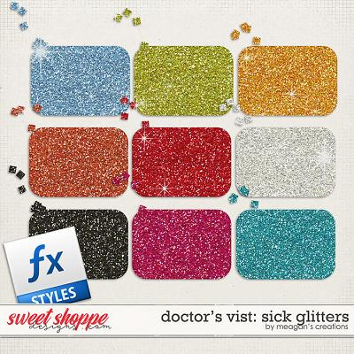 Doctor's Visit: Sick Glitters by Meagan's Creations