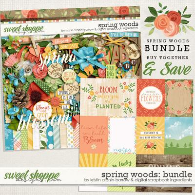 Spring Woods Bundle by Kristin Cronin-Barrow & Digital Scrapbook Ingredients