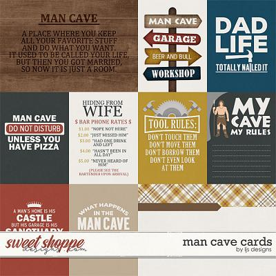 Man Cave Cards by LJS Designs