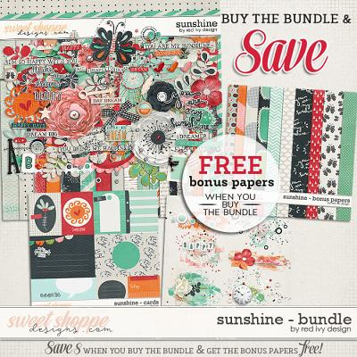 Sunshine - Bundle by Red Ivy Design