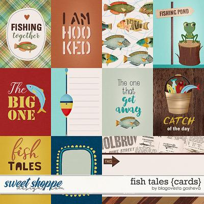Fish Tales {cards} by Blagovesta Gosheva