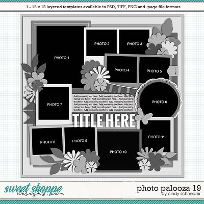 Cindy's Layered Templates - Photo Palooza 19 by Cindy Schneider