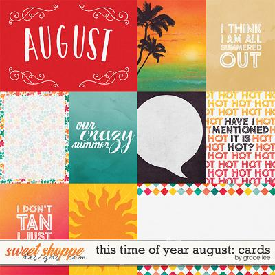 This Time of Year August: Cards by Grace Lee