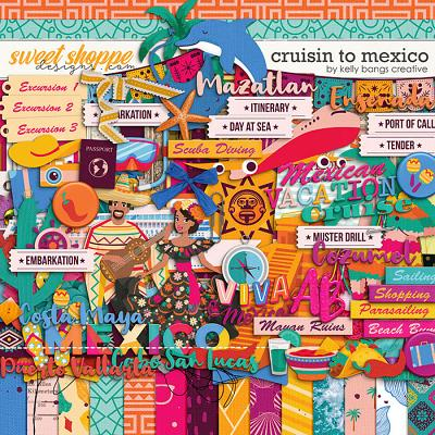 Cruisin to Mexico by Kelly Bangs Creative
