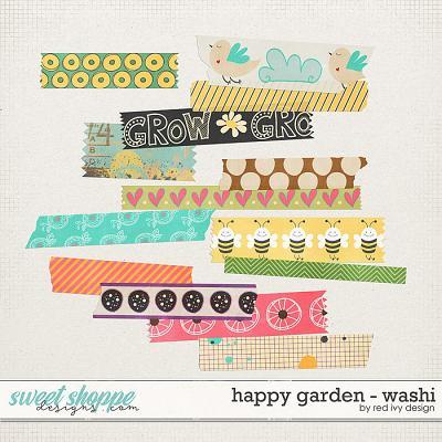 Happy Garden - Washi by Red Ivy Design