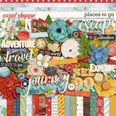 DUO 3 - Places to Go by Misty Cato, Kristin Cronin-Barrow and WendyP Designs