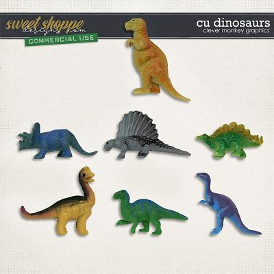 CU Dinosaurs by Clever Monkey Graphics