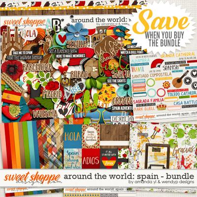 Around the world: Spain - Bundle by Amanda Yi & WendyP Designs