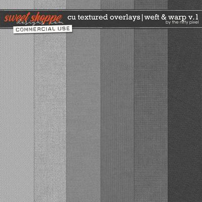 CU TEXTURED OVERLAYS | WEFT & WARP V.1 by The Nifty Pixel