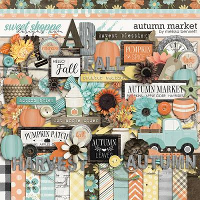 Autumn Market by Melissa Bennett