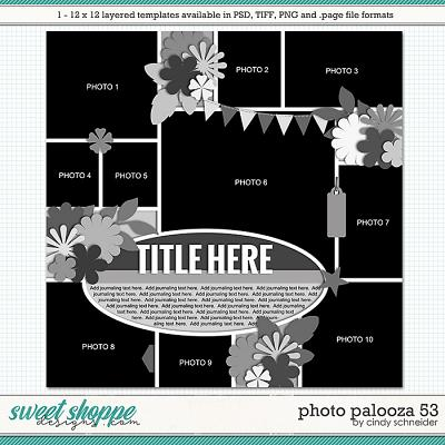 Cindy's Layered Templates - Photo Palooza 53 by Cindy Schneider