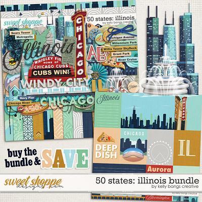 50 States: Illinois Bundle by Kelly Bangs Creative