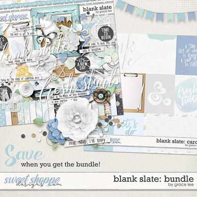 Blank Slate: Bundle by Grace Lee