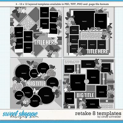 Cindy's Layered Templates - Retake Eight by Cindy Schneider