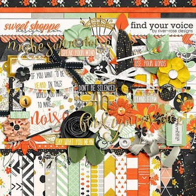 Find Your Voice Kit by River Rose Designs