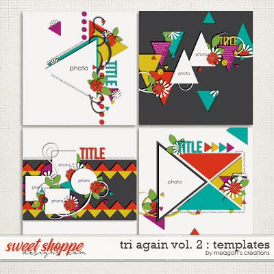 Tri Again Vol. 2 : Templates by Meagan's Creations