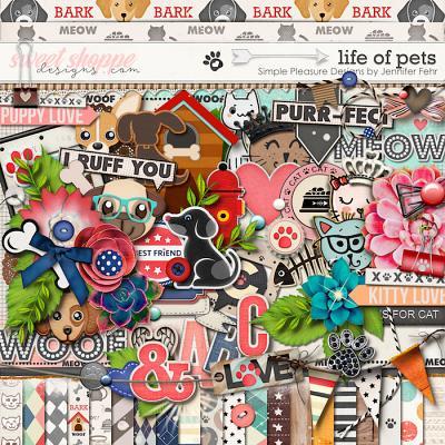 Life Of Pets Kit:  Simple Pleasure Designs by Jennifer Fehr