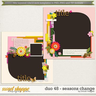 Brook's Templates - Duo 48 - Seasons Change by Brook Magee