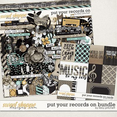 Put Your Records On Bundle by Libby Pritchett