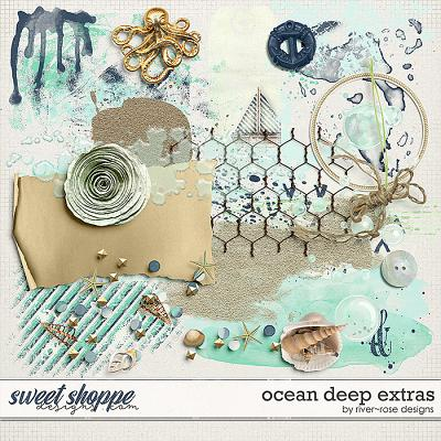 Ocean Deep Elements by River Rose Designs
