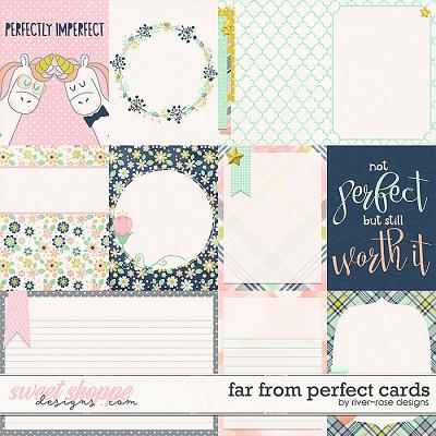 Far from Perfect Cards by River Rose Designs