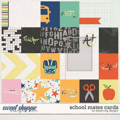 School Mates Cards by Dream Big Designs