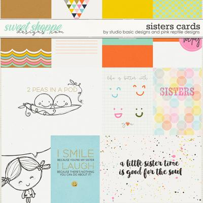 Sisters Cards by Studio Basic and Pink Reptile Designs